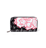 Nintendo - Peach Allaround Zipper Bifold Girls Wallet