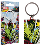 Marvel Comics Metal Keychain Incredible Hulk 6 cm