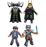 Thor Ragnarok Minimates Action Figures 5 cm Box Set