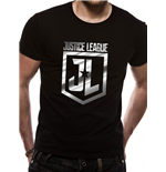 Justice League Movie T-shirt - Foil Logo (Unisex)