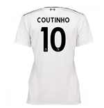 2016-17 Liverpool Away Womens Shirt (Coutinho 10)