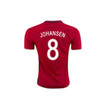 2016-17 Norway Home Shirt (Johansen 8) - Kids