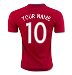 2016-17 Norway Home Shirt (Your Name) -Kids