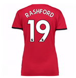 2017-2018 Man United Womens Home Shirt (Rashford 19)