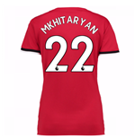 2017-2018 Man United Womens Home Shirt (Mkhitaryan 22)
