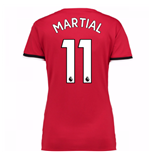 2017-2018 Man United Womens Home Shirt (Martial 11)
