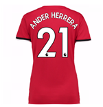 2017-2018 Man United Womens Home Shirt (Ander Herrera 21)