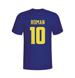 Juan Roman Riquelme Boca Juniors Hero T-shirt (navy)