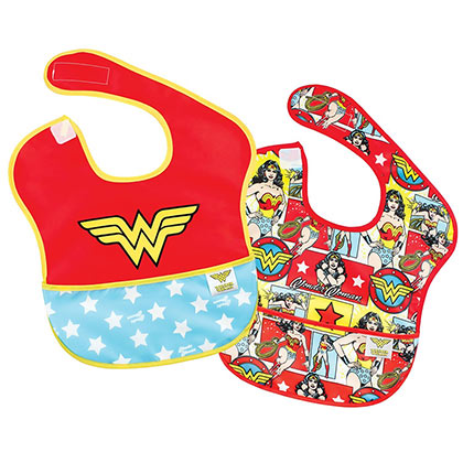 WONDER WOMAN Bib Set