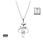 Star Wars Necklace Mandalorian Symbol 46 cm (Sterling Silver)