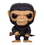 War for the Planet of the Apes POP! Movies Vinyl Figure Caesar 9 cm