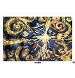 Doctor Who Poster - Exploding Tardis - 61X91,5 Cm