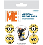 Despicable me - Minions Pin 282541