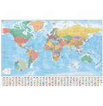 World map Poster 282635