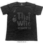 The Who Men's Fashion Tee: Max R&B (Vintage Finish)