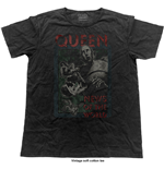 Queen Men's Fashion Tee: NOTW (Vintage Finish)
