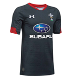 2018-2019 Wales Rugby Alternate WRU Supporters Shirt (Anthracite)