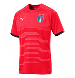 2018-2019 Italy Away Puma Goalkeeper Shirt (Red)