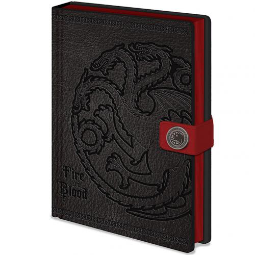 Game Of Thrones Premium Notebook Targaryen