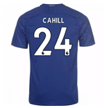 2017-18 Chelsea Home Shirt (Cahill 24)