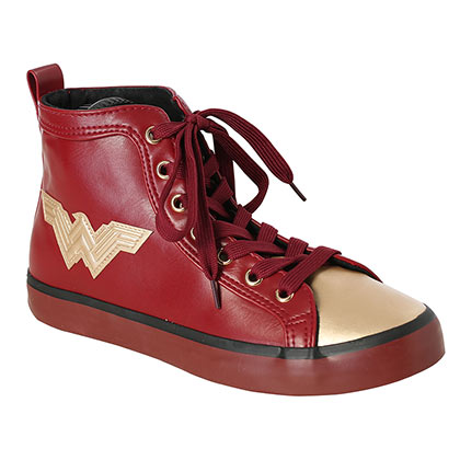 WONDER WOMAN PU High Top Shoes