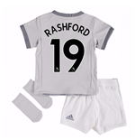 2017-2018 Man United Third Baby Kit (Rashford 19)