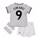 2017-2018 Man United Third Baby Kit (Lukaku 9)