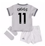 2017-2018 Man United Third Baby Kit (Giggs 11)