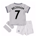 2017-2018 Man United Third Baby Kit (Beckham 7)