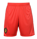 2018-2019 Belgium Home Adidas Football Shorts (Red)
