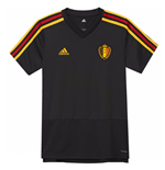 2018-2019 Belgium Adidas Training Shirt (Black) - Kids