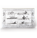 Titanic Print on wood 283058