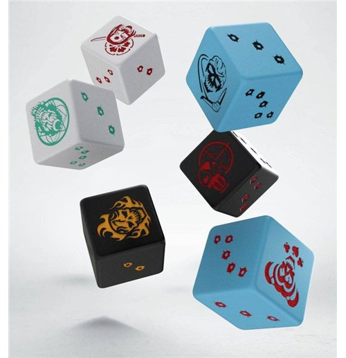 Batman Miniature Game Dice Set D6 Suicide Squad (6)