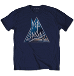 Def Leppard Men's Tee: Triangle Logo