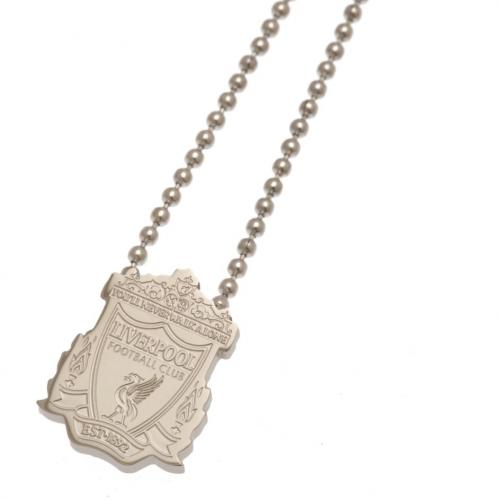 Liverpool F.C. Stainless Steel Pendant & Chain