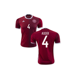 2016-2017 Denmark Home Shirt (Agger 4) - Kids