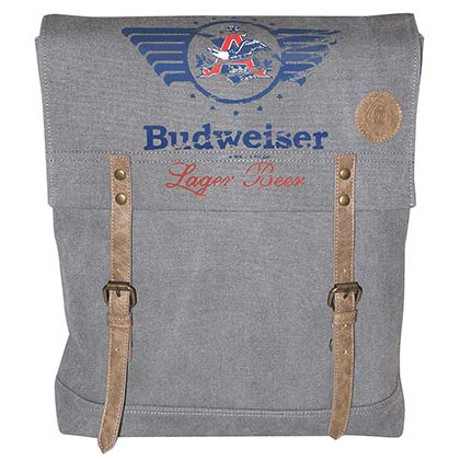 BUDWEISER Canvas Backpack