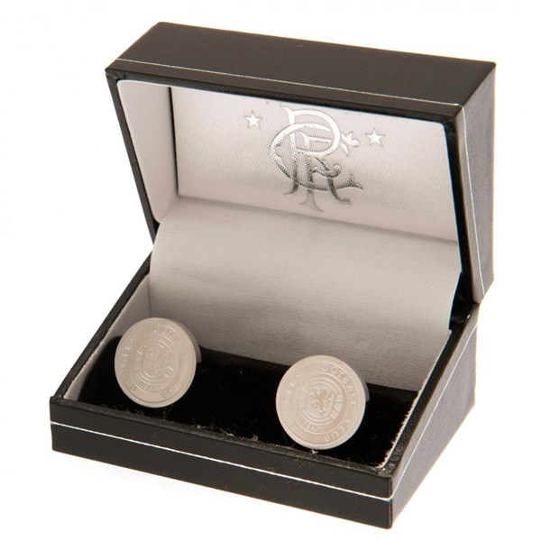 Rangers F.C. Stainless Steel Cufflinks CR