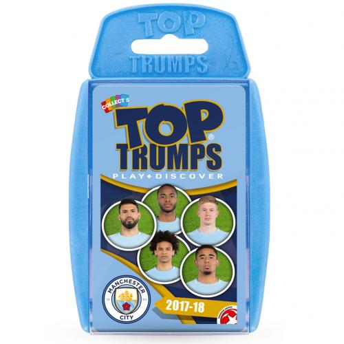Manchester City F.C. Top Trumps 18