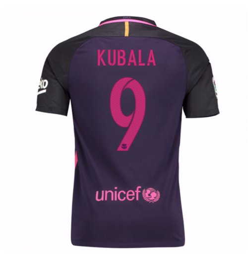 2016-17 Barcelona Away Shirt (Kubala 9)
