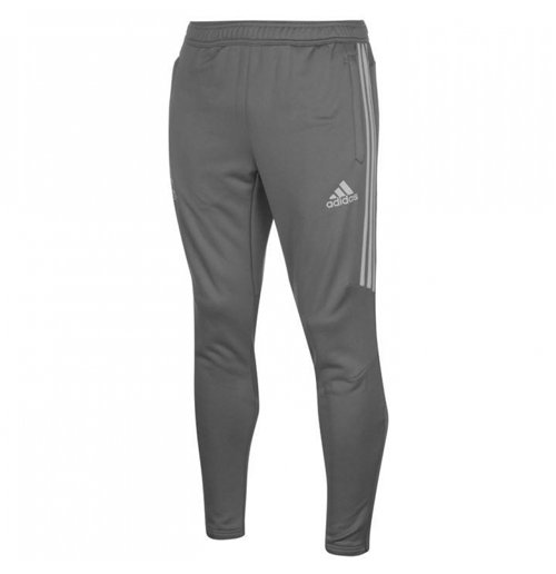 2017-2018 Man Utd Adidas Training Pants (Grey)