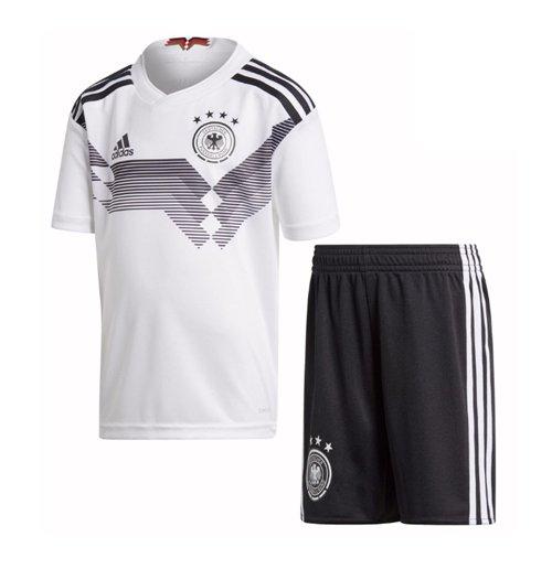 new style 9eed1 736ee 2018-2019 Germany Home Adidas Mini Kit