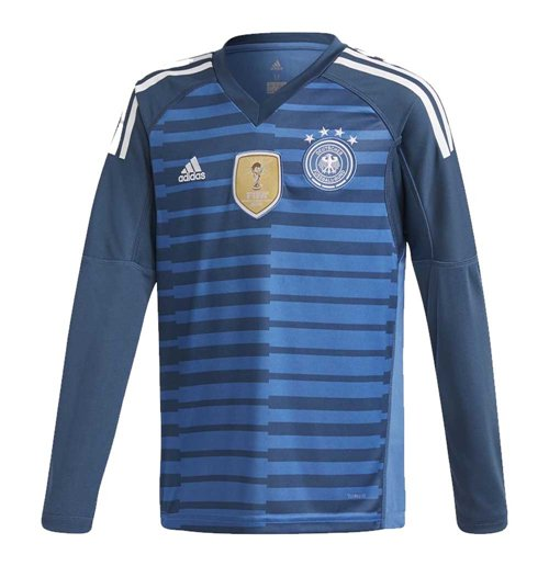 2018-2019 Germany Home Adidas Goalkeeper Shirt (Kids)