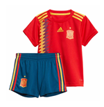 2018-2019 Spain Home Adidas Baby Kit