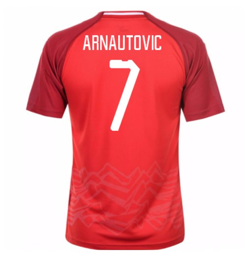 2018-19 Austria Home Shirt (Arnautovic 7)