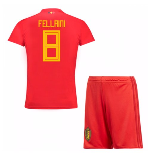 2018-19 Belgium Home Mini Kit (Fellaini 8)