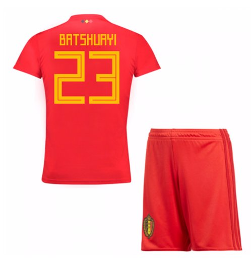 2018-19 Belgium Home Mini Kit (Batshuayi 23)