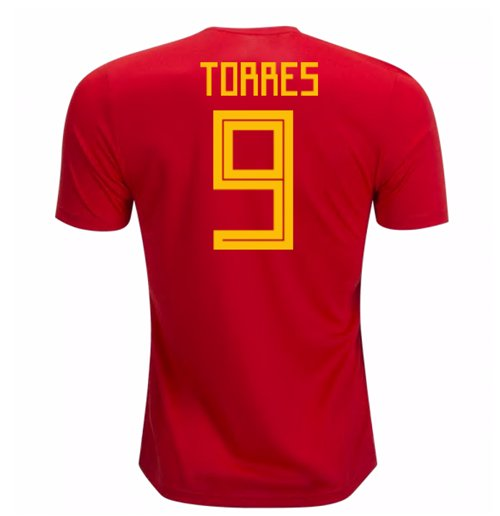 2018-19 Spain Home Shirt (Torres 9) - Kids