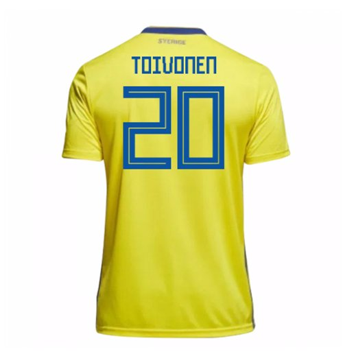 2018-19 Sweden Home Shirt (Toivonen 20) - Kids