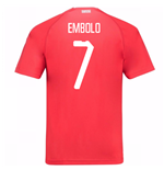 2018-19 Switzerland Home Shirt (Embolo 7)